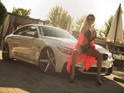 Filmare aeriana Bucuresti BMW M4 2014