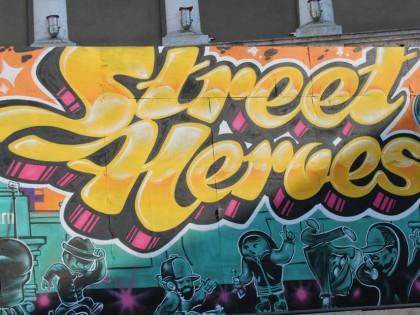 Filmare aeriana Street Heroes 2014