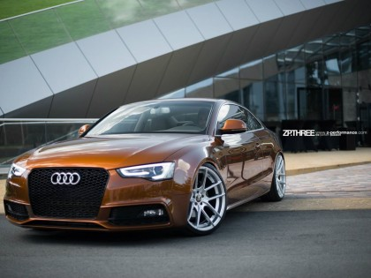 Filmare aeriana Audi A5 Worthersee